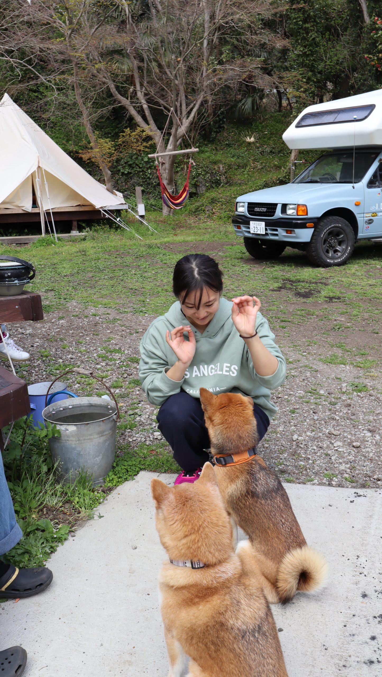 IZUMI RESORT 伊豆海の森スマイルキャンプ場